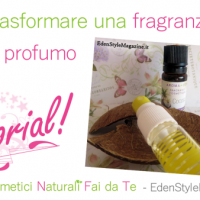 Video Tutorial - Trasformare una fragranza cosmetica in un profumo