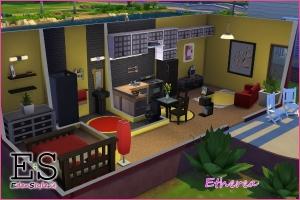 Nuova casa di the sims 4 esm for Case the sims 3 arredate
