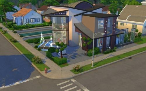 Nuova casa di the sims 4 da scaricare eclettica esm for Sims 4 piani di casa