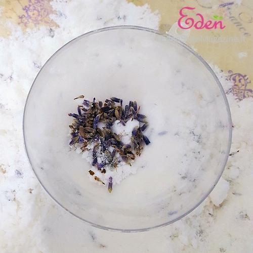 bomba bagno fiori lavanda stampo