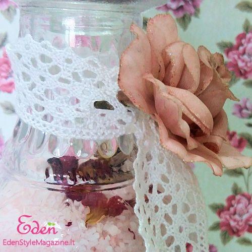 Sali da bagno alla rosa fai da te esm - Sali da bagno colorati ...