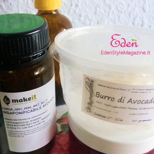 burro olio insaponificabile avocado