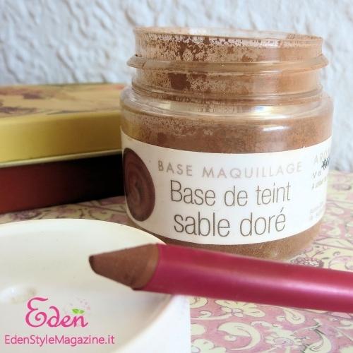 base sable dore aroma zone