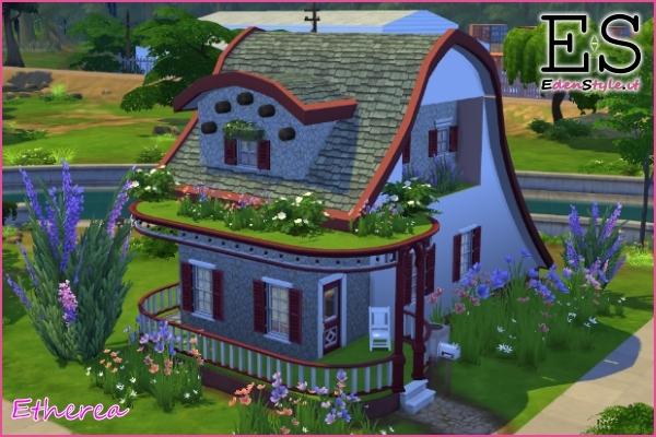 Nuova casa di the sims 4 ispirata a lo hobbit esm for Case the sims 3 arredate