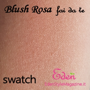 swatch blush phard fard rosa