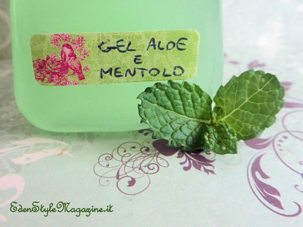 gel mentolo aloe