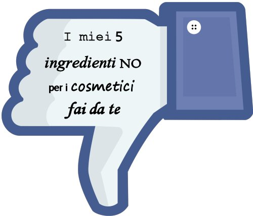 ingredienti no cosmetici fai da te