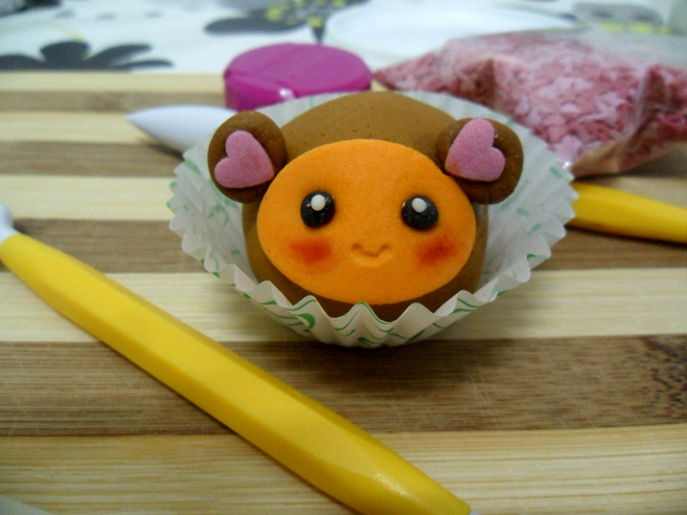cakeball scimmia kawaii