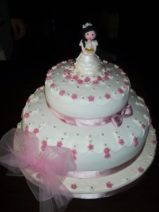 Foto torta per prima comunione car interior design for Decorazione torte prima comunione