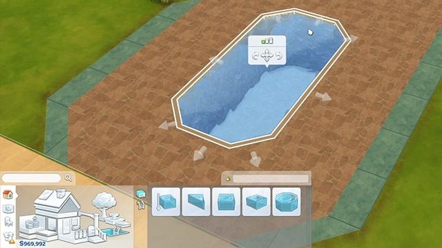 I 10 migliori suggerimenti per costruire le piscine in the for Sims 4 piscine a debordement
