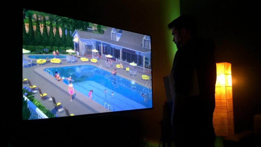 Seconda immagine delle piscine di the sims 4 for Sims 4 piscine a debordement